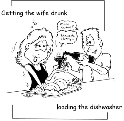 getting dishwasher